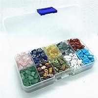 1000 Pcs Chip Gemstone Beads DIY Jewelry Making, Healing Engry Crystals Polishing Crushed Irregular Shaped Beads with…