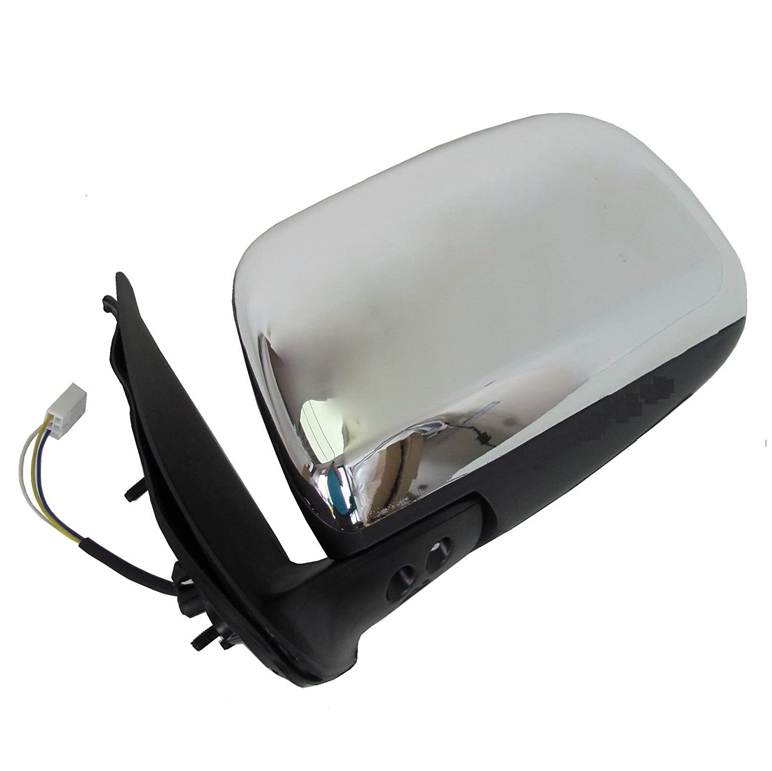 Hi-Lux Hilux Pick-Up 05-2010 Electric Wing Mirror Chrome O//S Driver S MK6