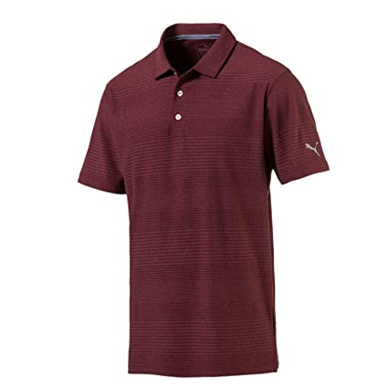 PUMA Aston Polo Camisa, Hombre, Pomegranate, Large: Amazon.es ...