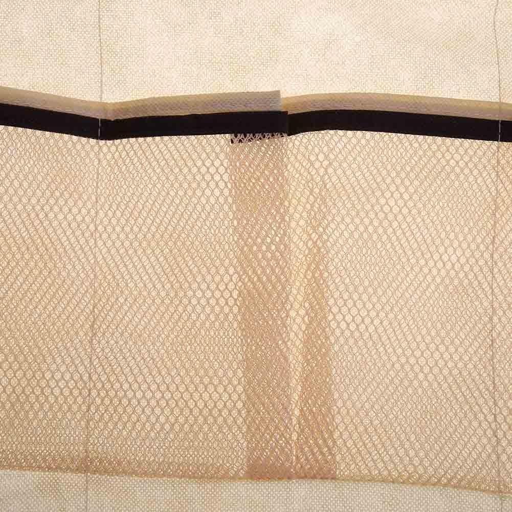 Demiawaking Over Door Shoe Storage 24 Pockets Hanging Shoe Organiser Storage Rack Holder Bag with Hooks for Wardrobe
