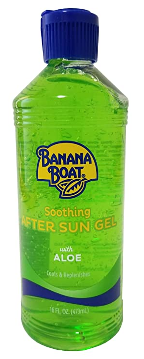Banana Boat Aloe Aftersun Gel Soothes Dry Sunburned Skin Size 16 Oz Pack Of 3 Beauty