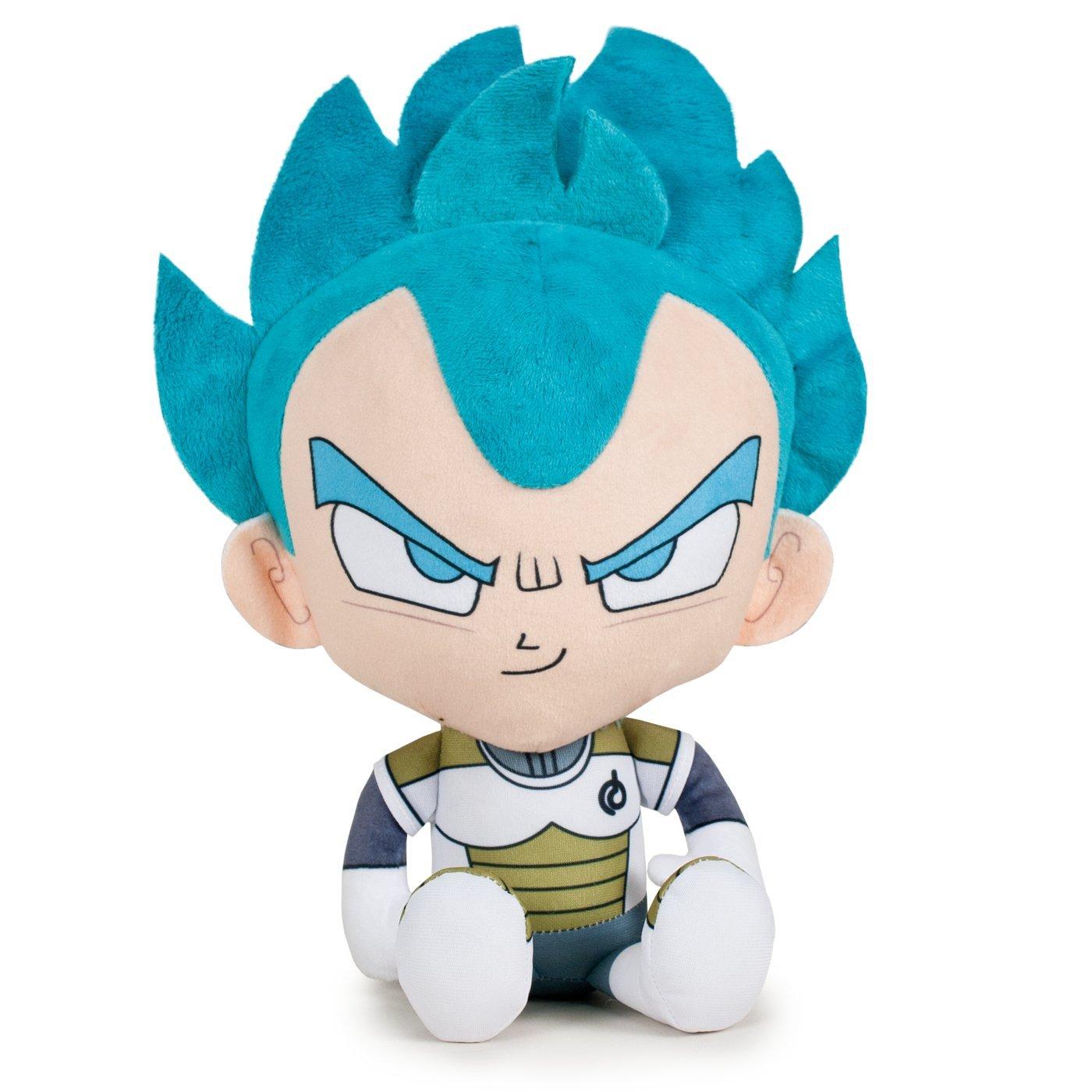 Play by Play OUSDY - Peluches Personajes Dragon Ball Super 760016800 22CM 4MODELOS (Vegeta Super Saiyan Dios): Amazon.es: Juguetes y juegos