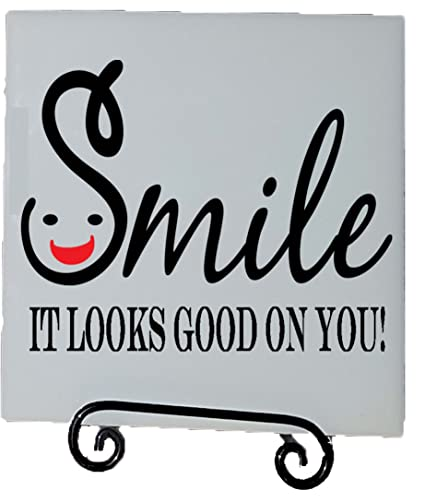 Amazoncom Being Me Home Decor Accents Smile It Looks Good On You