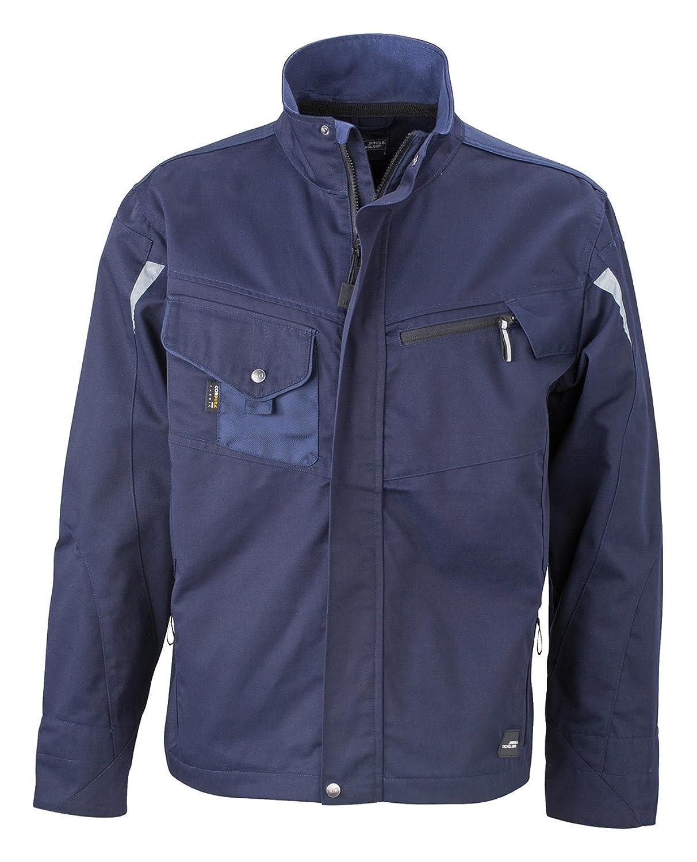 James & Nicholson, Herren, Workwear Jacket Cordura