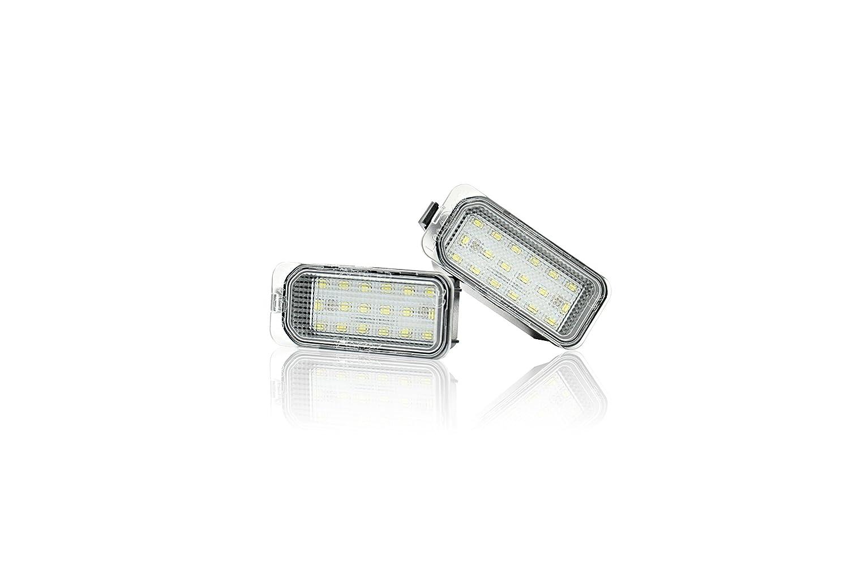 JOM 82806 LED Kennzeichen Beleuchtung inkl E-Pr/üfzeichen Power-LEDs