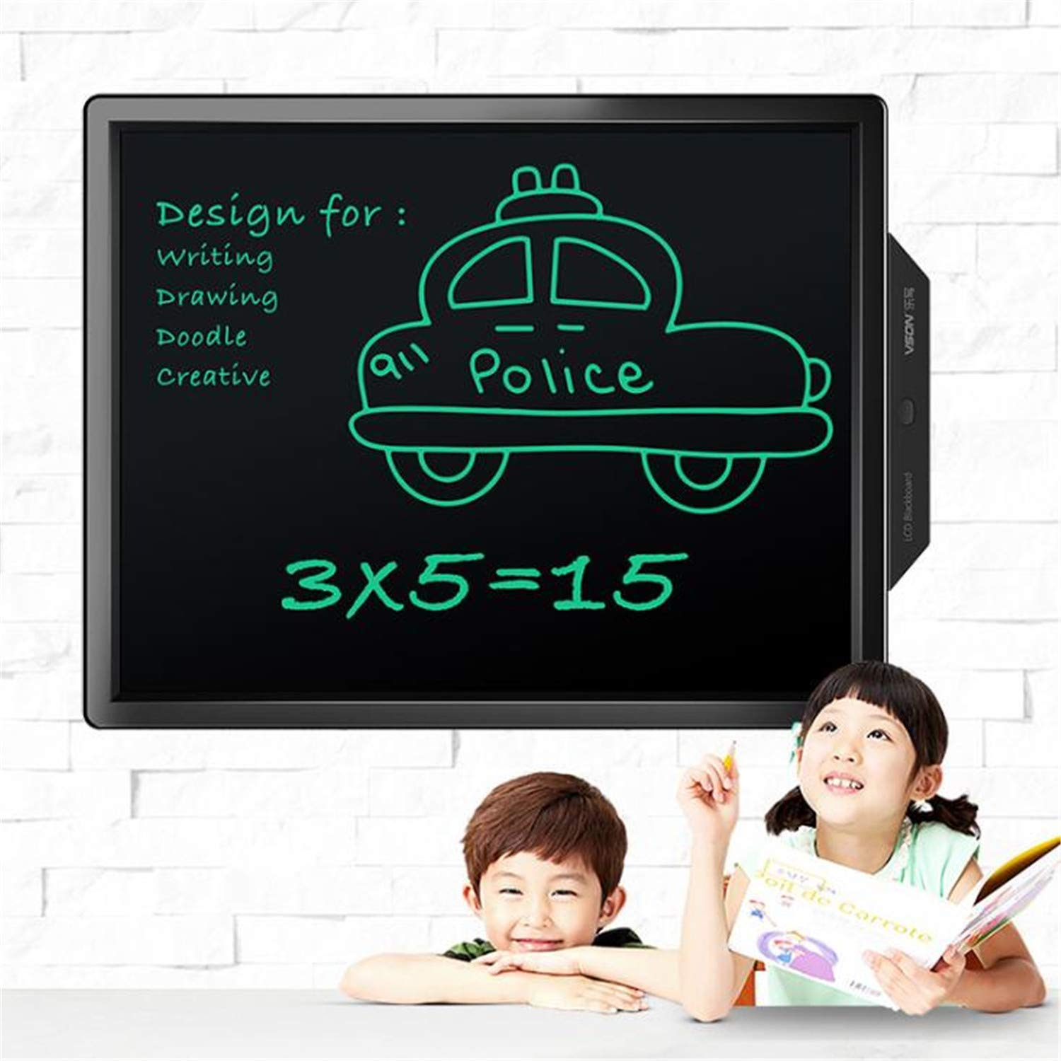 BABIFIS 20'' Graphic Drawing Tablet Handwriting Pads Electronic LCD Writing Tablet Portable Notepad Drawing Board with Stylus Pen