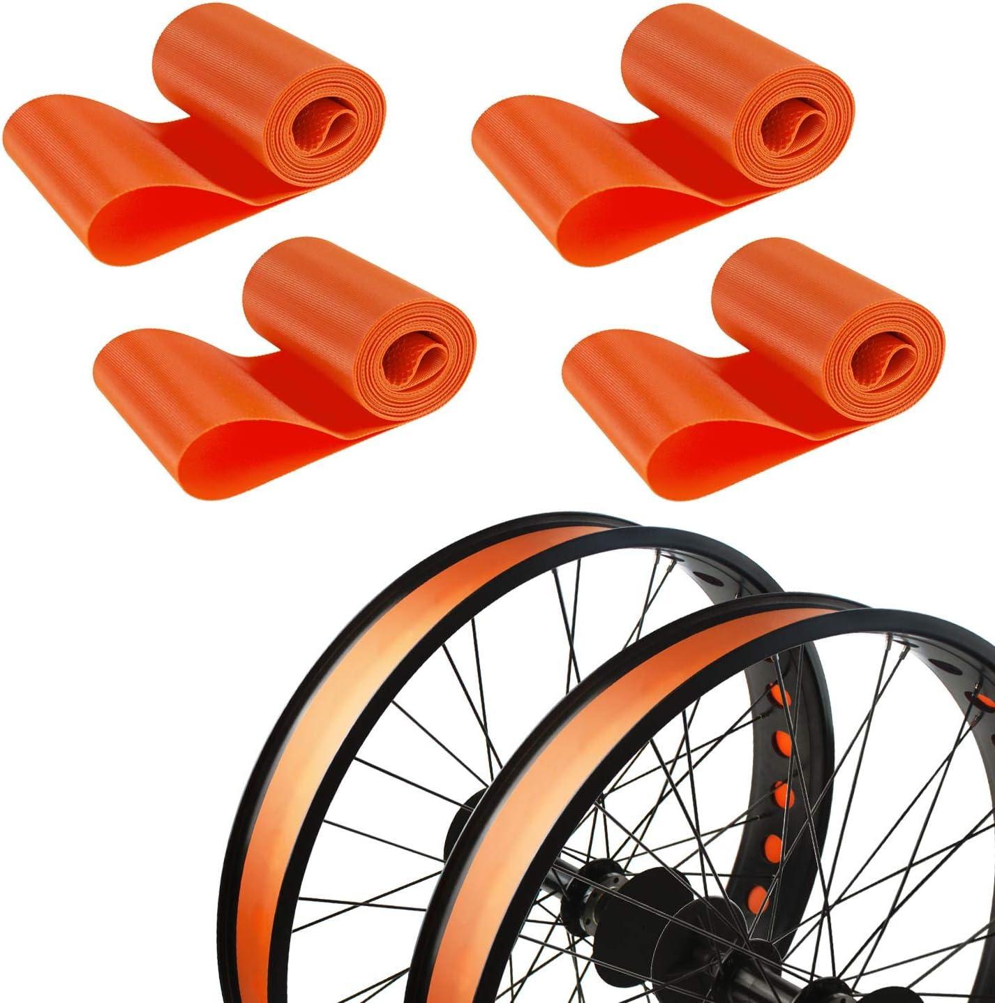 Lightweight Tire pad Wheel Supplies 2pcs Inner tube Bicycle Bike Liner