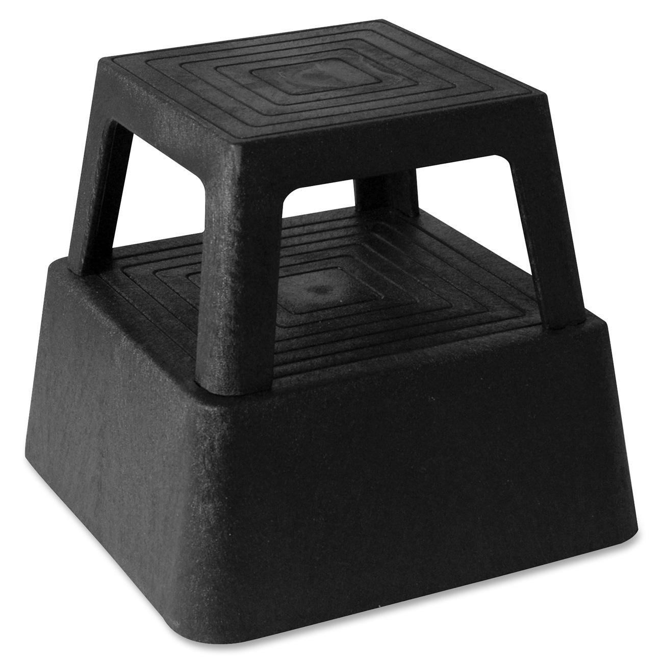 Genuine Joe GJO02428 Structural Plastic Step Stool with 4 Casters 350 lbs Capacity 14.3  Length x 14.3  Width x 13  Height Black Stepladders ...  sc 1 st  Amazon.com & Genuine Joe GJO02428 Structural Plastic Step Stool with 4 Casters ... islam-shia.org
