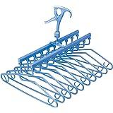 レック フリーグリップ 10連 ハンガー ( 洗濯ハンガー )