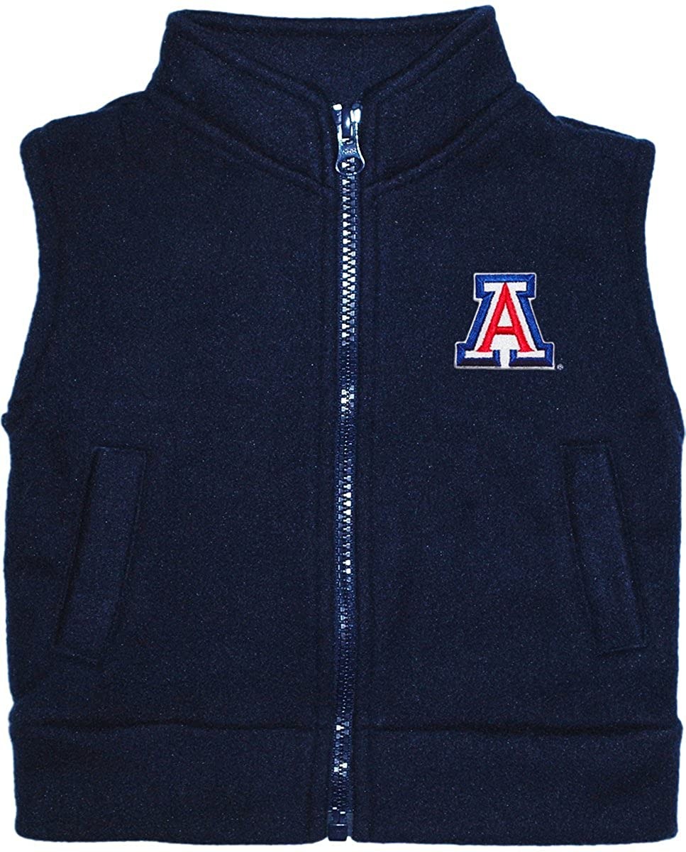 University of Arizona Wildcats Baby and Toddler Polar Fleece Vest