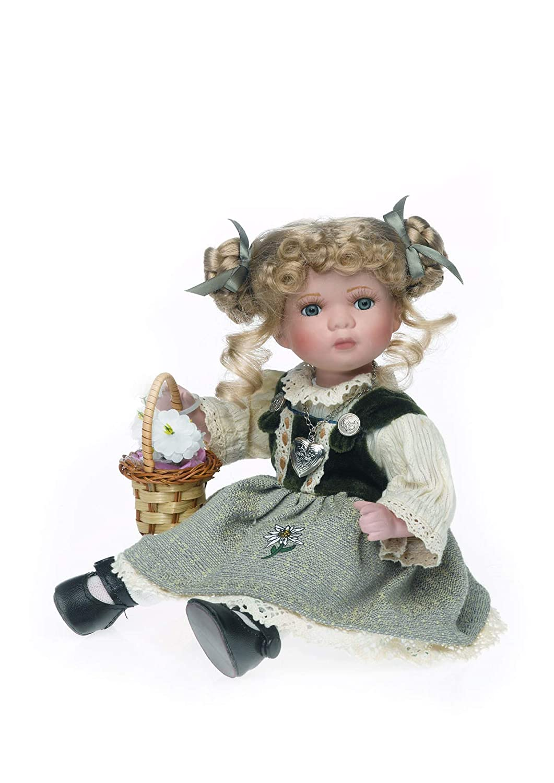 30 cm in Porcellana Bambola da Collezione Reinhard Faelens RF Collektion