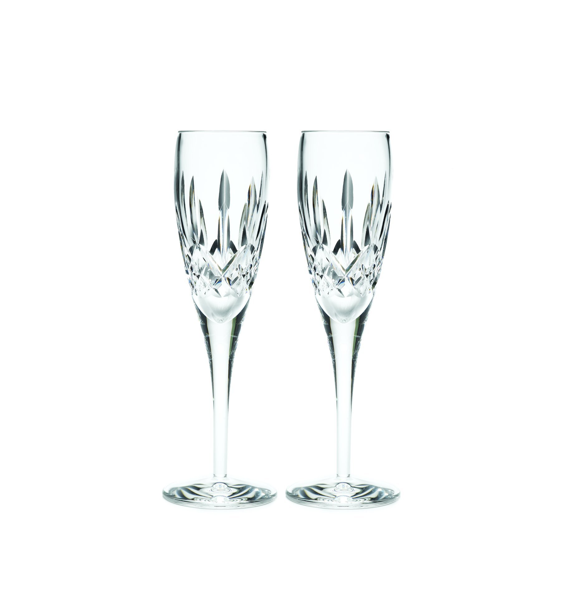 Waterford Lismore Nouveau Champagne Flute Pair, 7-Ounce