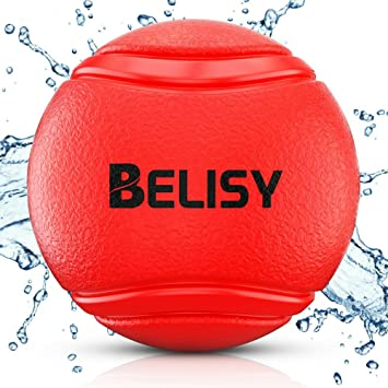 BELISY Pelota Perro - Juegos Para Perros - Adecuado Para Perros Grandes y Pequeños - Pelota Hinchable Perro - Hecho de Caucho Natural y Ecológico - ...
