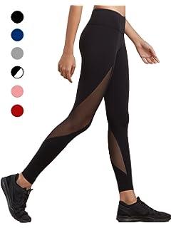 dh Garment Legging Sport Femme Pantalon Yoga avec Poche Taille Haute  Amincissant Coton - Noir bf9d8c053f9