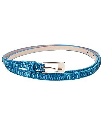 dfd747ec5 Glitz and Glam Skinny Belt at Amazon Women's Clothing store:
