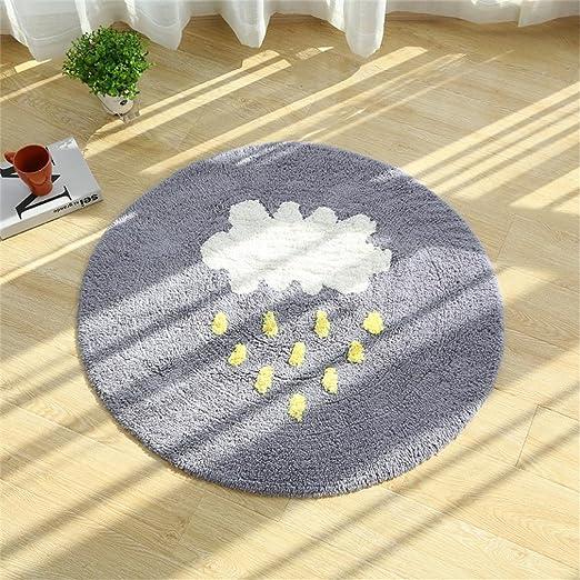 AMYBDT- Nubes Lluvia Algodón Alfombra Salón Dormitorio ...