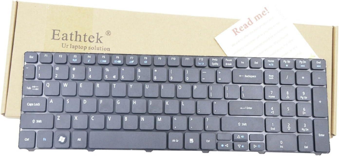 New Laptop Keyboard for Acer Aspire 5250 5253 5349 5560 5560G 5733 5733Z 7250 7552 7552G 7739 7739G 7739Z 7739ZG 7750 7750G 7750Z 7751 7751G series Black US Layout PCRepair