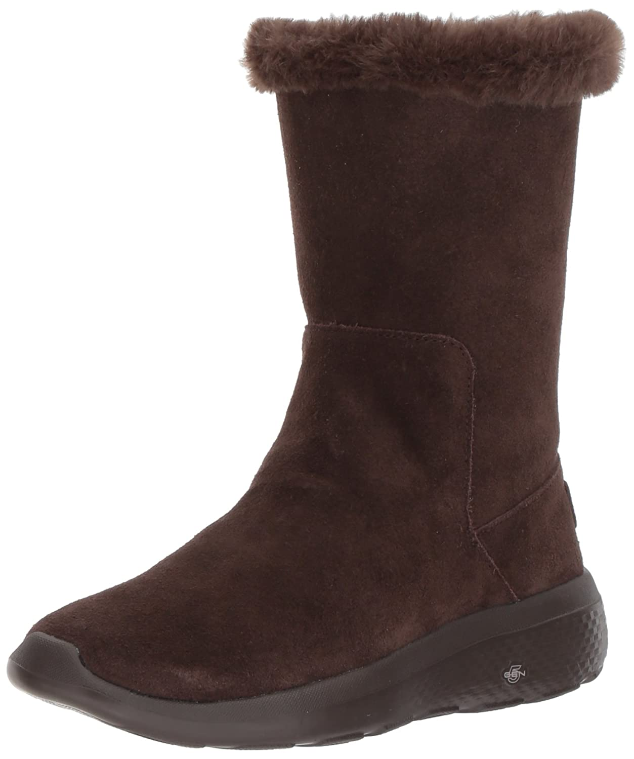 Skechers On-The-Go City 2, Botas para Mujer38 EU|Marrón (Chocolate)
