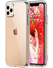 Bovon Cover per iPhone 11 Pro, Trasparente Protettiva Case Assorbimento Degli Urti, Custodia per iPhone 11 Pro Antigraffio in Silicone TPU Morbido Compatibile con iPhone 11 Pro 5.8 Pollici (2019)