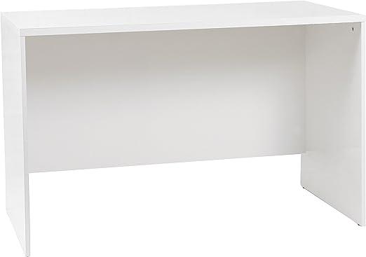 Tumueblekit Mesa Escritorio, Melamina, Blanco, 120X75X60 cm ...