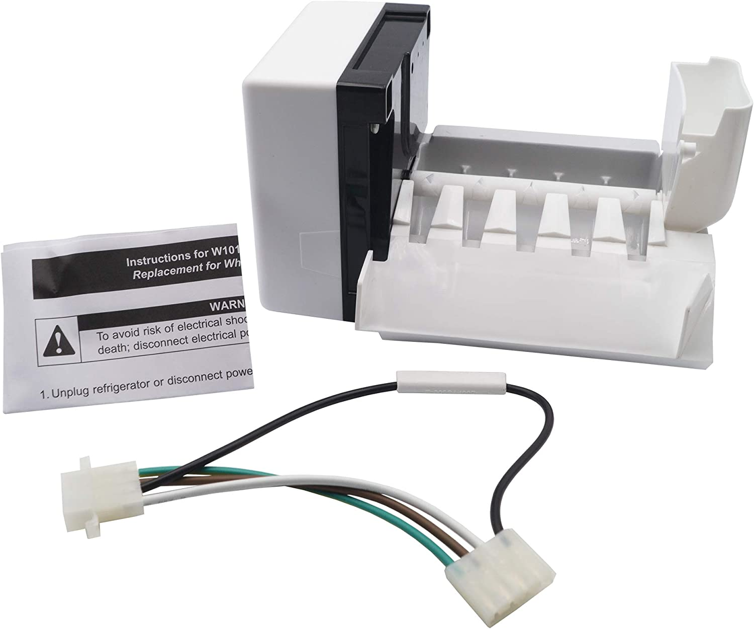 Supplying Demand W10190961 Ice Maker Compatible With Whirlpool Fits 2212352, 2212353