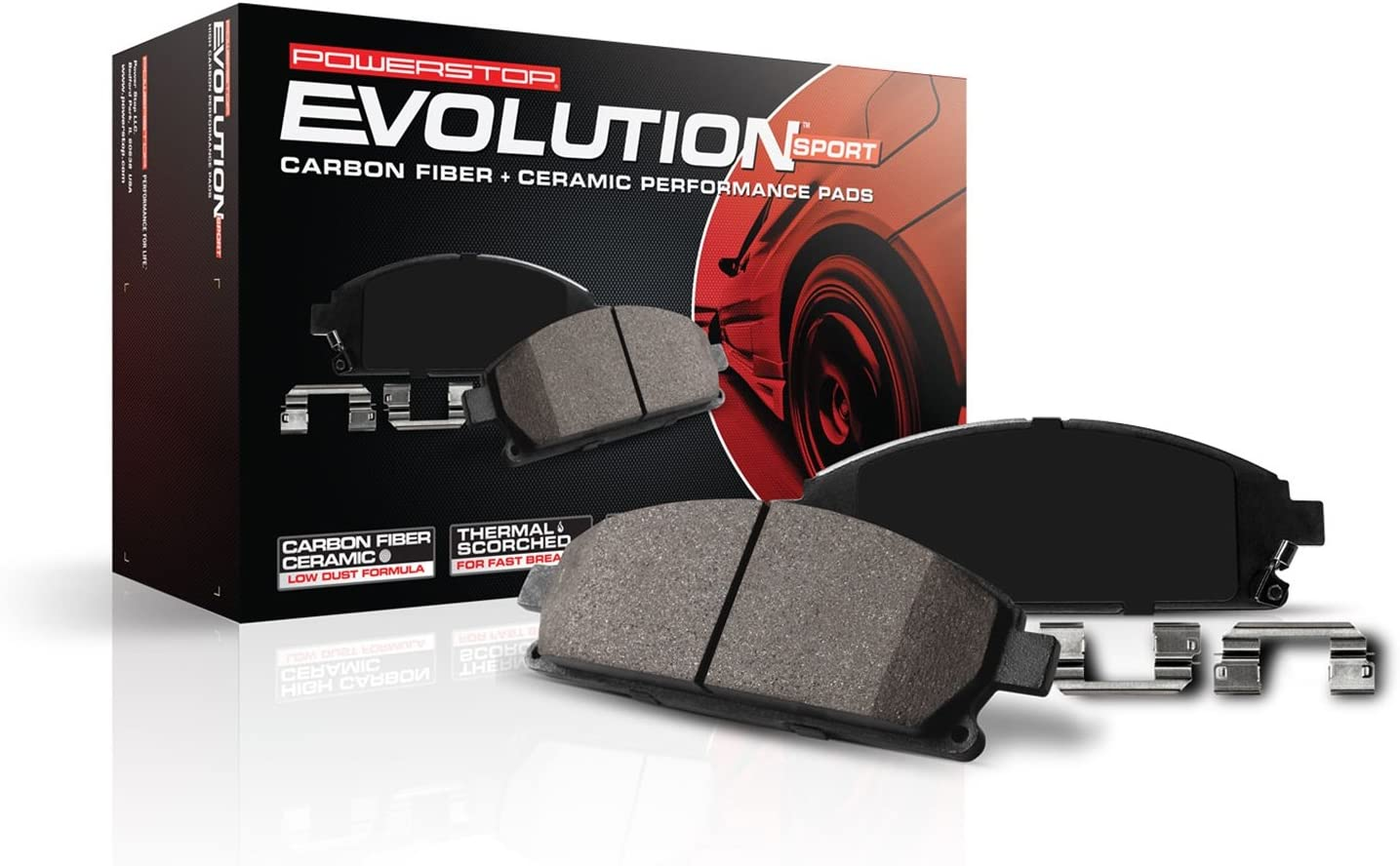 Z23 Evolution Sport Brake Pads Z23-1455 Front Power Stop
