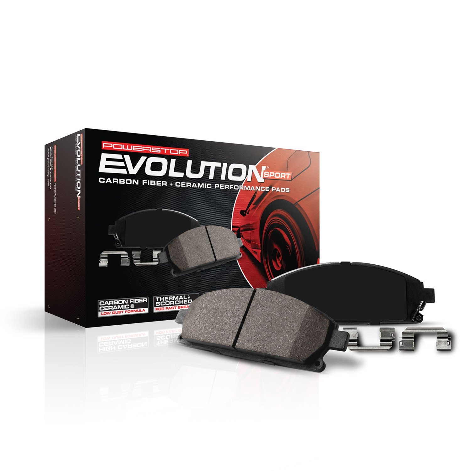 Power Stop (Z23-757) Z23 Evolution Sport Brake Pads, Rear by POWERSTOP (Image #3)