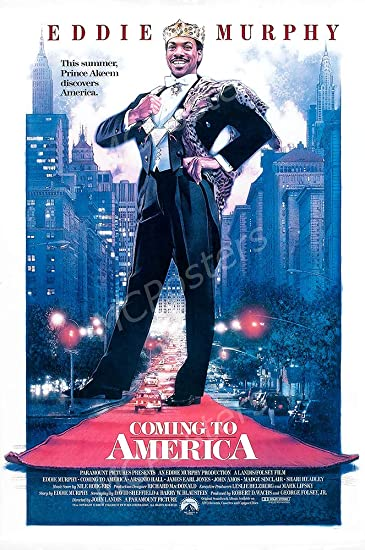 PremiumPrints - Coming to America Eddie Murphy Movie Poster - XMCP552 Premium Canvas 11