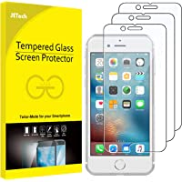 JETech J0806 Film de Protection d'écran pour iPhone 6s et iPhone 6 en Verre Trempé, Lot de 3