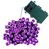 Amazon Price History for:Qedertek Battery Operated Lights, Fairy String Lights 50 LED 13.1ft Decorative Lighting with 8 Modes Auto Timer for Valentines Day, Party, Garden, Patio, Xmas, Lawn (Purple)
