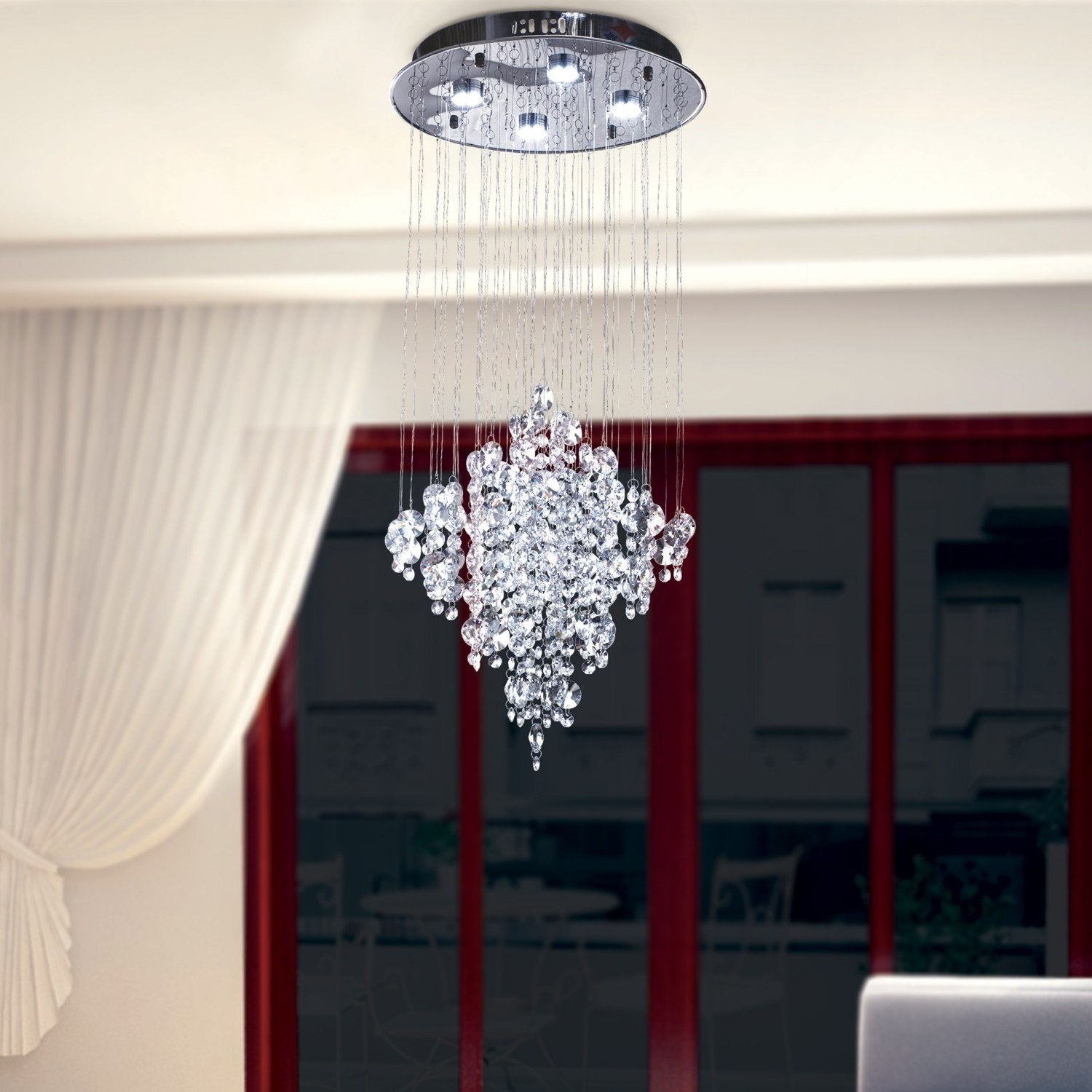 OOFAY LIGHT LED 4 3W Contemporary fashion K9 Crystal Modern
