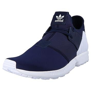 adidas - ZX Flux Plus - S79061 - Couleur: Bleu Marine-Blanc - Pointure