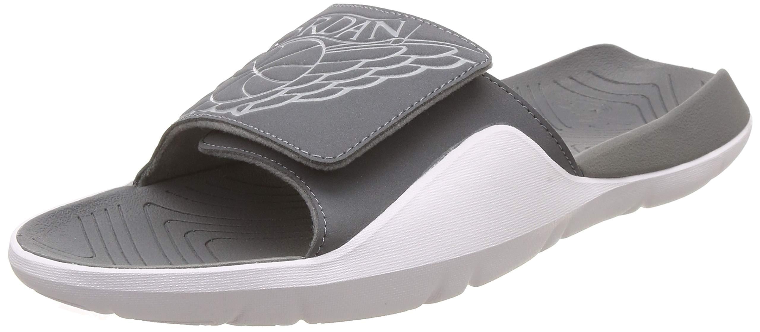 buy popular d992e c85d9 Jordan Hydro 7 Mens Slides Smoke Grey/Particle Grey/White aa2517-002 (10 M  US)