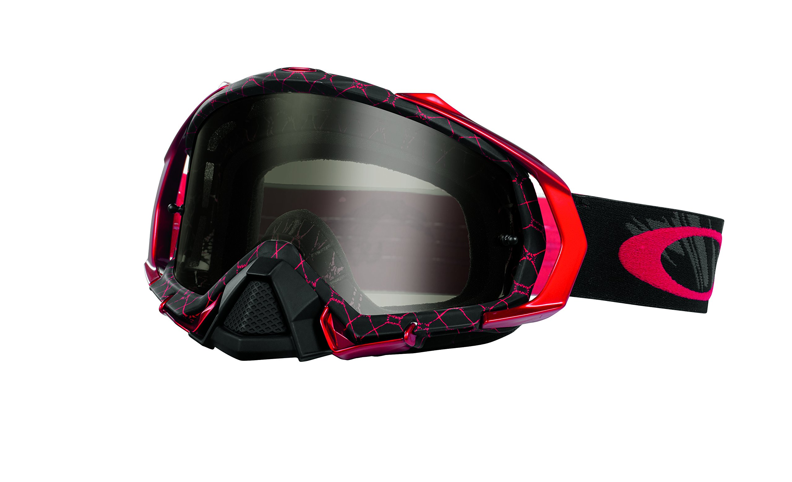 Oakley Mayhem Pro Reaper Goggles (Blood Red/Dark Grey)