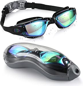 Aegend Swim Goggles UV Protection