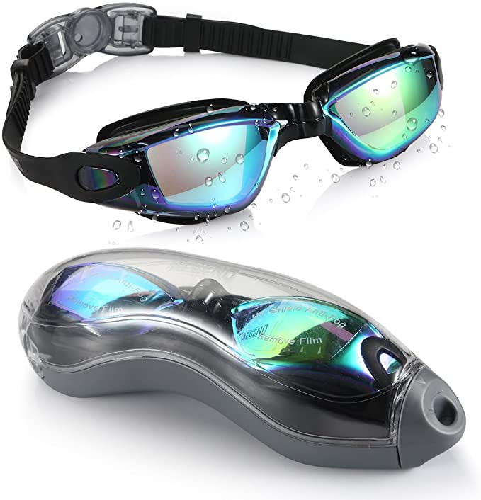 Details about  /NEW Adult Swim Mask Goggles 2 Pair Black Ages 14+