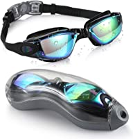 Aegend Swim Goggles, Swimming Goggles No Leaking Anti Fog UV Protection Triathlon Swim Goggles with Free Protection Case...