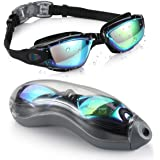 Aegend Swim Goggles, Swimming Goggles No Leaking Anti Fog UV Protection Triathlon Swim Goggles with Free Protection Case…