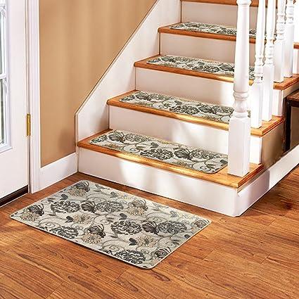 Soloom Non Slip Stair Treads Carpet Set Of 13(26u0026quot;x10u0026quot;)Plus