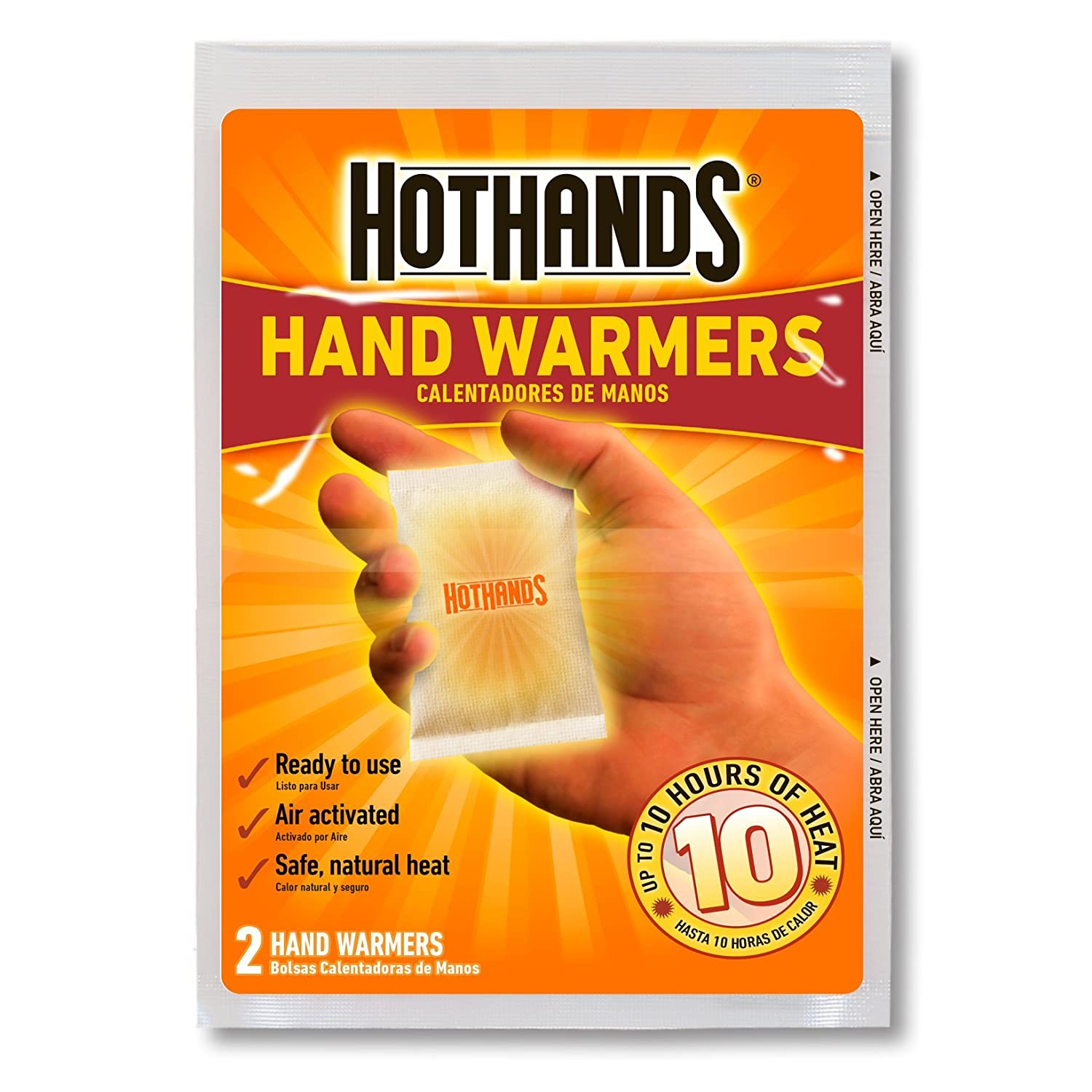 Number 10 Can Warmer ~ Hothands hand warmers pair value pack ebay