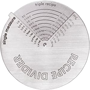 Miles Kimball Silver Recipe Divider Magnet