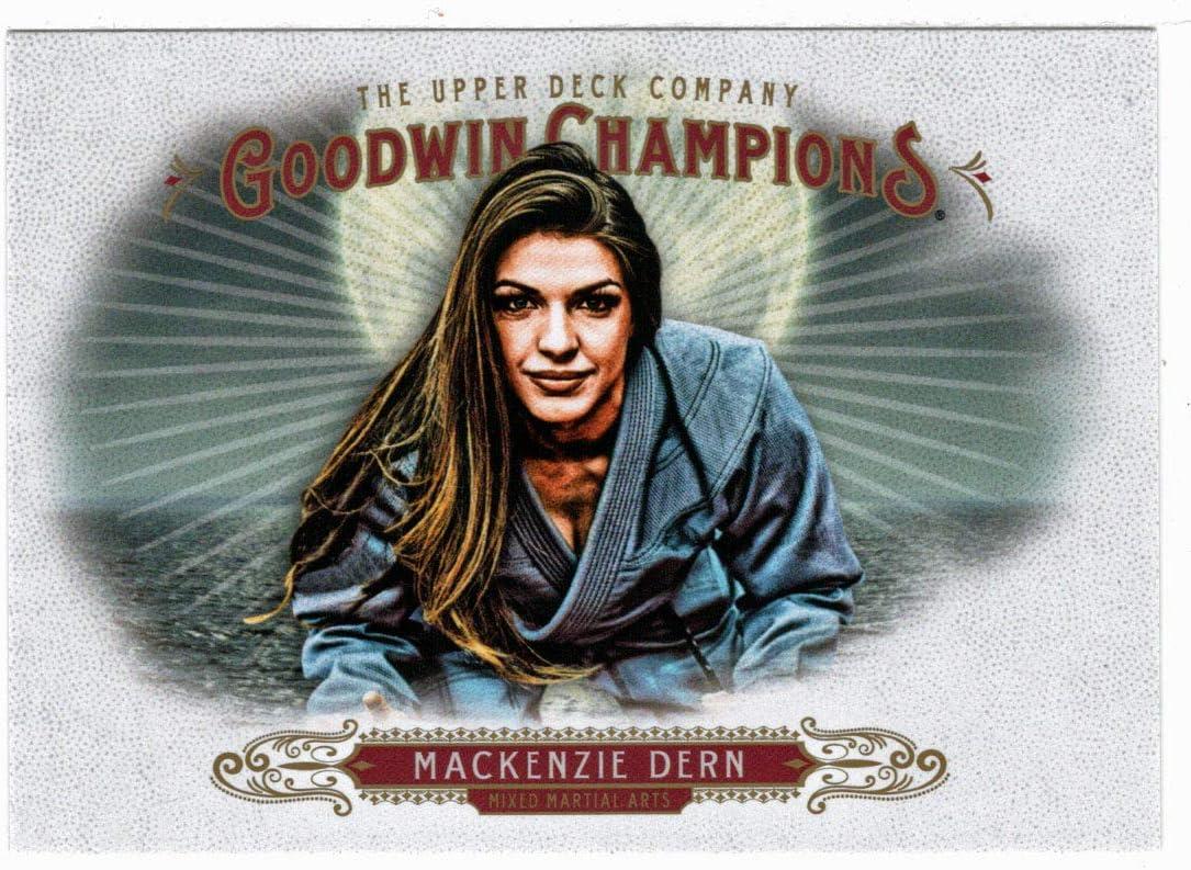 Multi-Sports Card Mackenzie Dern 2018 Upper Deck Goodwin Champions # 95 Mint