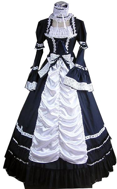 Amazon.com: Nobleza Bebe Lolita de mujer Vintage Princess ...