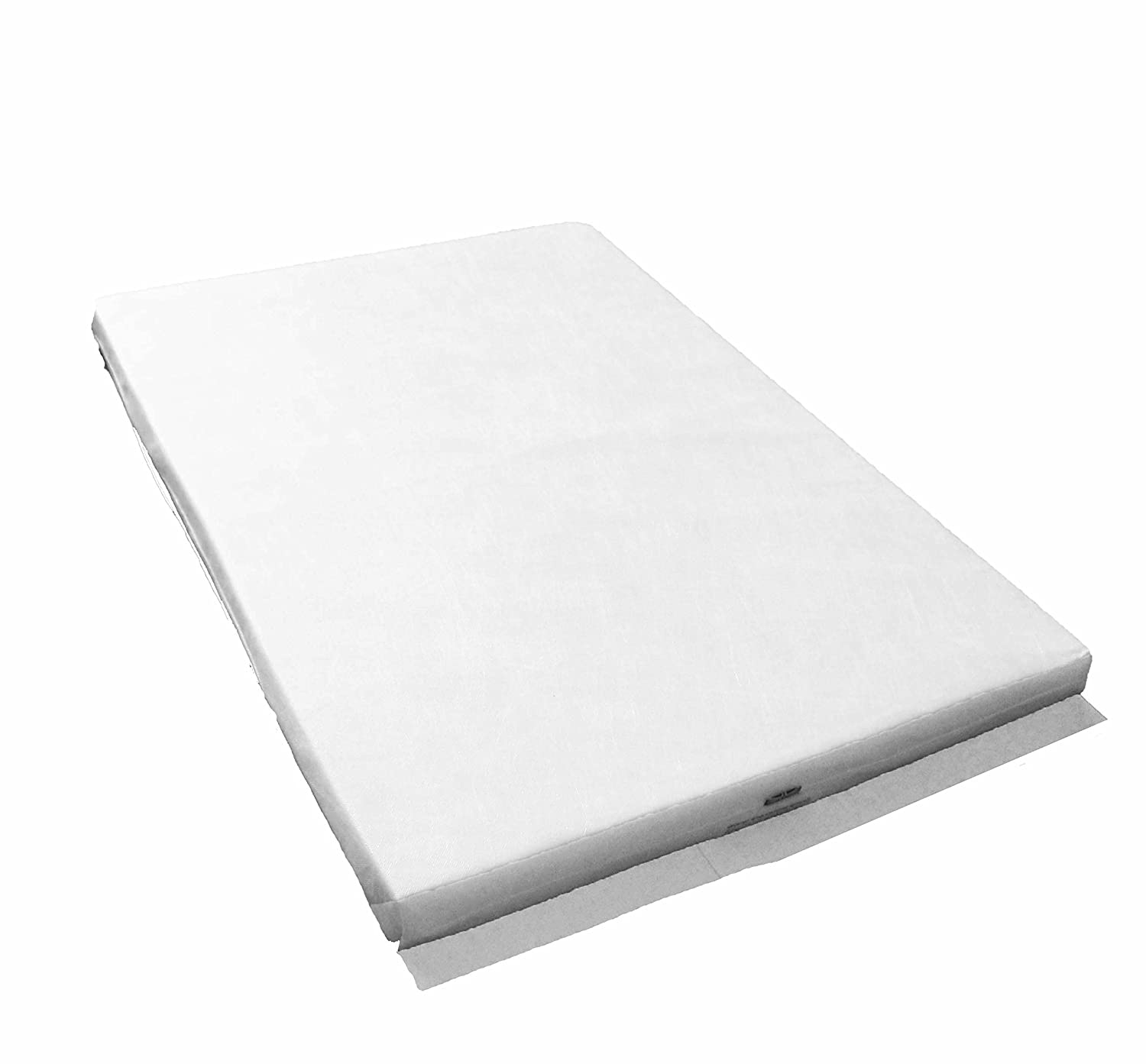 LAURA 95 x 65 x 5CM Thick Travel Cot Mattress - Will Fit Mamas & Papas Classic Travel Cot As Well As Other Makes: Reversible: BRITISH MADE With High Grade Density Foam CMHR28 LAURA-95-5