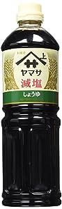 Yamasa Low Sodium Soy Sauce, Reduced Salt Japanese Shoyu | 34 Fluid Ounce | Preservative Free