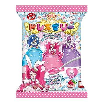 キラキラプリキュアアラモード ドレスゼリー 6入 食玩・ゼリー(プリキュア)
