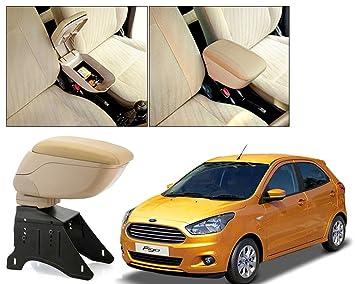 Auto Pearl Beige Armrest Console Box for   Figo  2015