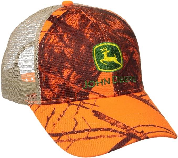 John Deere -Gorra de béisbol Hombre naranja naranja Talla única ...