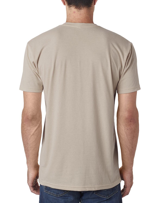 7ded8da5 Amazon.com: 6410 Next Level Men's Premium Fitted Sueded Crewneck T-Shirt:  Clothing