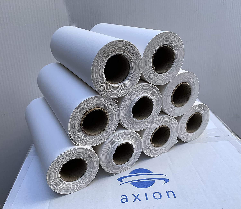Rollos de papel para quiropr/ácticos axiothera 9x Rollos para la secci/ón de cabeza de 20cm x 70m